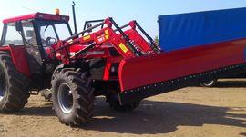 Traktoren, Landwirtschaftliche Fahrzeuge - Kommunalschild NEU Schneeschild für Frontlader