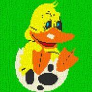 Vorlage für Ministeck Ente in