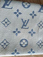 Louis Vuitton Logomania Schal Beige