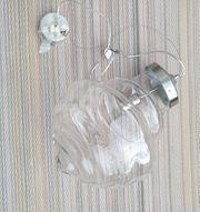 Hängelampe - Klarglas Designerstück
