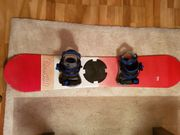 Snowboard mit Softboots Gr 36