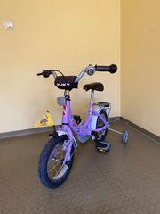 Mädchen Fahrrad Puky Lila 12