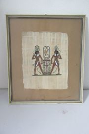 Ägypten Papyrusbild