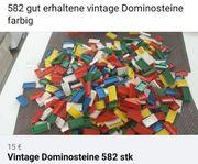 582 vintage dominosteine