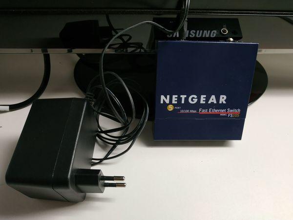 NETGEAR FS105 Switch 5-Port inkl