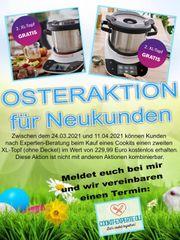 OSTERAKTION - Bosch COOKIT Beratung - live