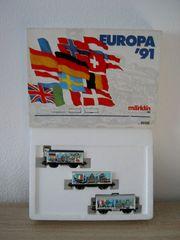 Märklin Wagenset Europa 91 H0