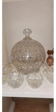 Kristall-Bowlen Set von Nachtmann