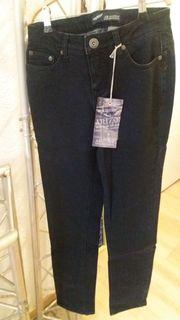 Arizona Jeans Gr 34 dunkelblau