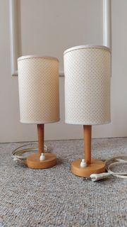Nachttischlampen Bj 1965