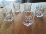 5 Schnapsgläser Cristal d Arques