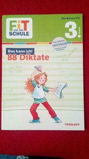 Fit für die Schule - 88 Diktate
