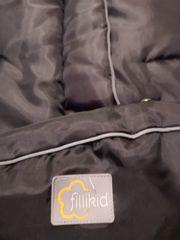 Fillikid Fleece-Fußsack für Buggy Kinderwagen