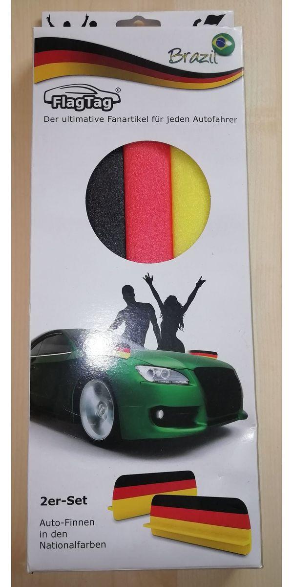 FlagTag Auto-Finnen 2er-Set Fahne fürs