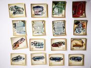 62 Zigarettenbilder Garbaty Das Auto