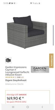 Gartenmöbel xxl neu ohne polster