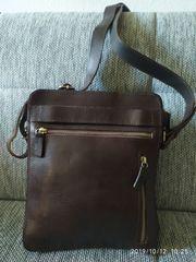 Neue Lederunhängetasche JOST für Herren
