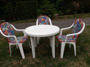 weiße Garten Sitzgruppe zu verkaufen