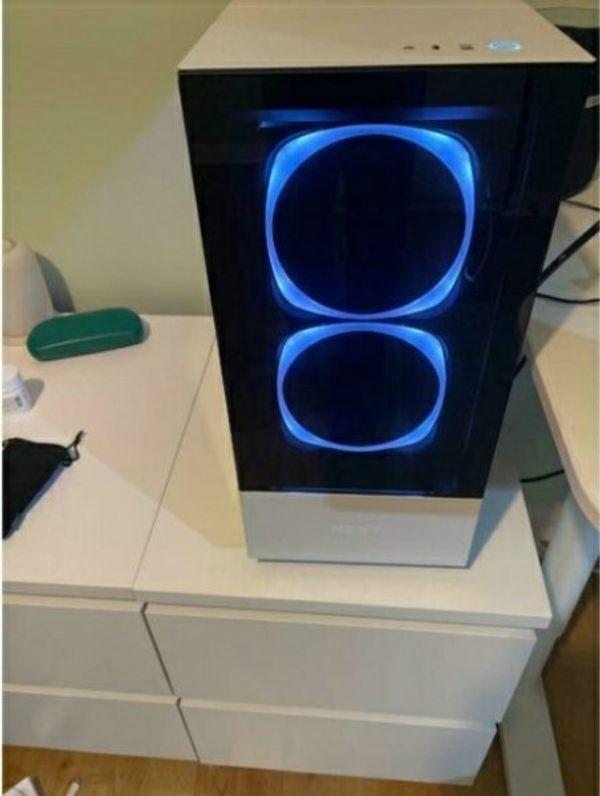 4K-gaming-PC, RTX 3080 FE, Ryzen 5600x Wasser gekühlt, 32 GB RAM, 1 TB NVMe SSD, 850W