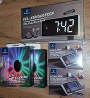 Radiowecker 2 LED Party Lichtrad