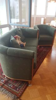 2-Sitzergarnitur 2erCouch plus 2 Sessel