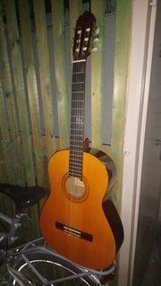 Akkustische Holzgitarre