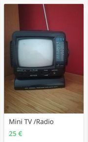 Kleiner Mini TV S W