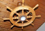 Deckenlampe Steuerrad Eiche hell maritim