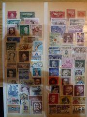Sammlung 293 gestempelter österreichischer Briefmarken