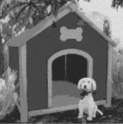Vorlage für Ministeck Hund mit