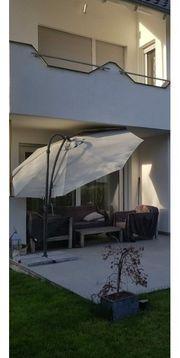 Gartenmöbel-Set Massivholz Grau