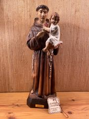 Antonius Figur Holzschnitzerei