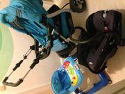 Kinderwagen Buggy Babyschale Autositz Lauflerngerät