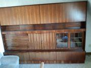 Wohnzimmerschrank 70er Jahre Palisander