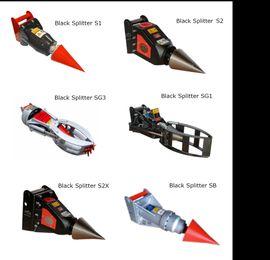 Bild 4 - Wildkrautbesen für Black Splitter-Geräte Kegelspalter - Willingen