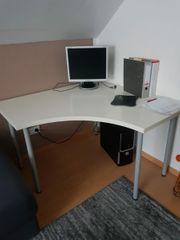 Schreibtisch Eckschreibtisch inkl Computer und