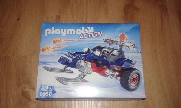 Playmobil 9058 Action Eispiraten Racer