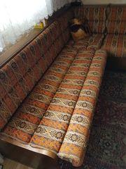 Esseck-Garnitur aus Eiche Rustikal