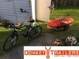 Mountain-Bikes, BMX-Räder, Rennräder - Grosse Cargo Bike Trailer