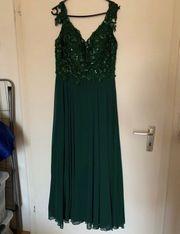 Smaragdgrünes Abendkleid Ballkleid Abiye