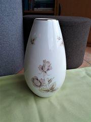 Vase von Hutschenreuther Serie Hohenberg