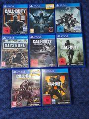 Für Playstation4 8 Spiele