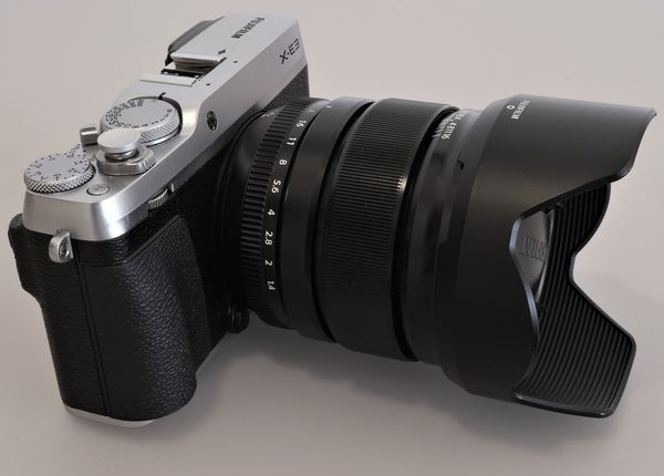 Fujifilm X-E3 Kamera mit Fujinon