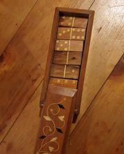 Domino Spiel Doppelsteine Holz