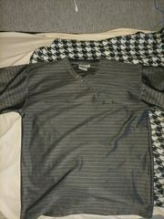 Edles graues Versace T shirt