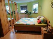 Schlafzimmer Erle teilmassiv für Selbstabbauer