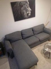 Eckcouch Sofa Farbe Grau