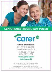 Altenbetreuung zu Hause Pflegekraft aus