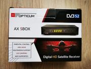 HDTV Sat-Receiver Mediaplayer 1080P Full-HD