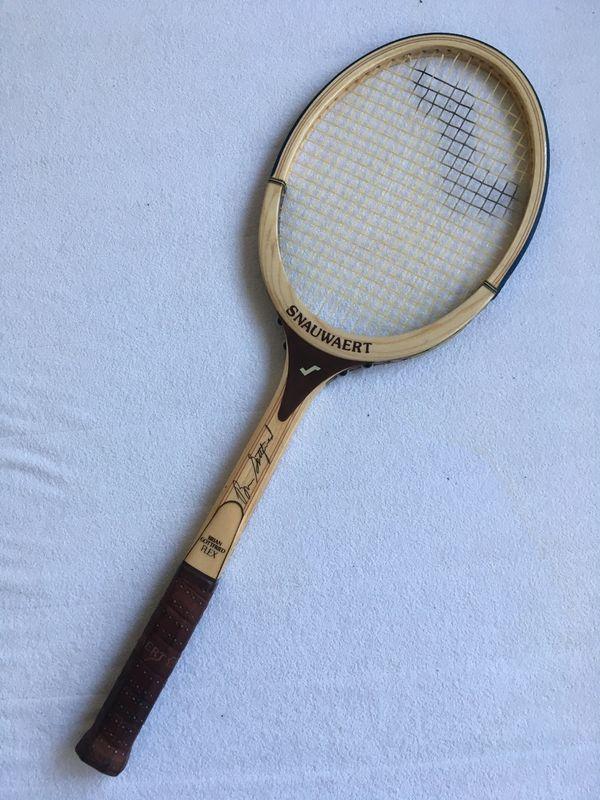 Tennisschläger Snauwaert Brian Gottfried FLEX mit Schutzhülle